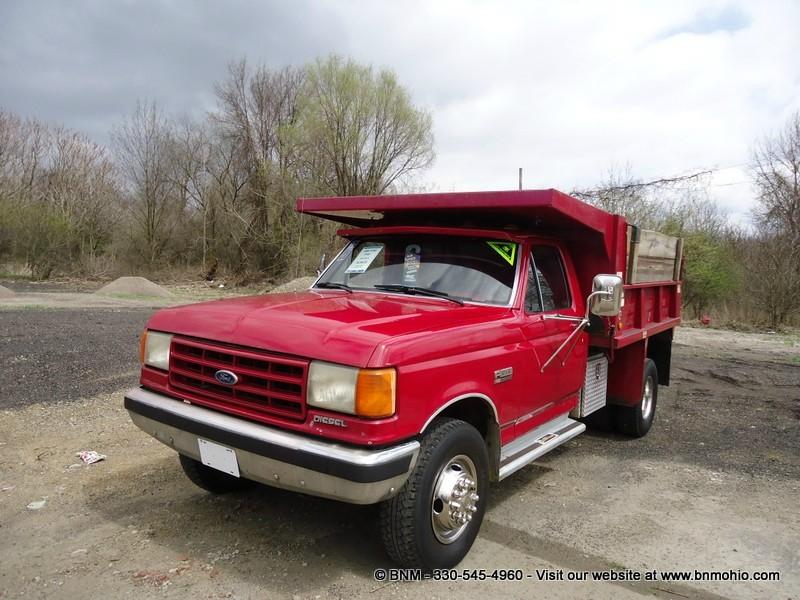 1988 Ford F450 Diesel Dump Truck Bnm Auto Group