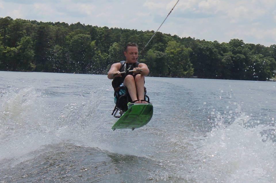 My Son Ryan Dulina Catching Air...