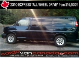 Chevrolet Express PASSENGER /CARGO $16,5OO 2010