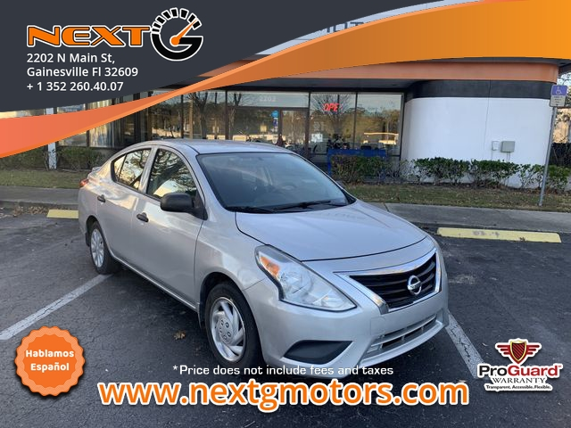 2015 nissan versa s plus sedan 4d cars - gainesville, fl at geebo