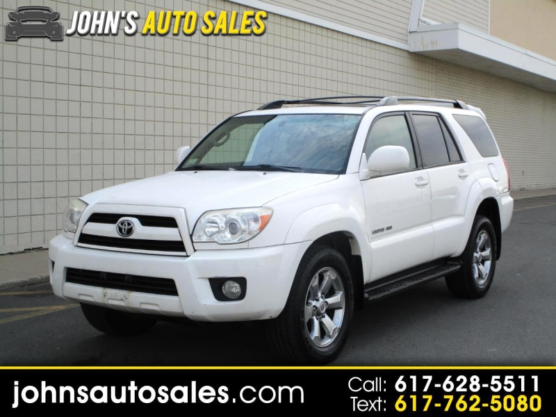 2006 toyota 4runner 4dr limited v6 auto 4wd natl cars - somerville, ma at geebo
