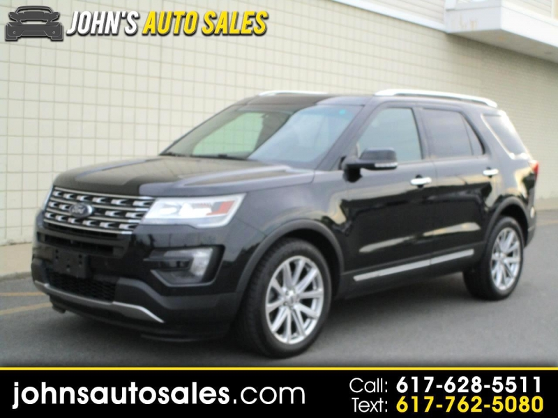 2016 ford explorer 4wd 4dr limited cars - somerville, ma at geebo