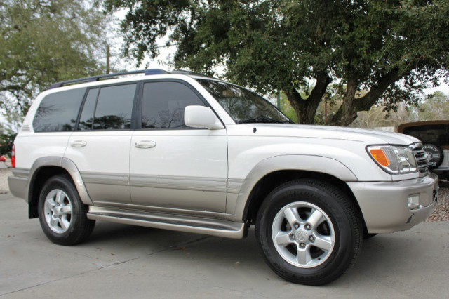 buy used 2003 toyota land cruiser 4dr 4wd super clean navig in league city texas united states. Black Bedroom Furniture Sets. Home Design Ideas