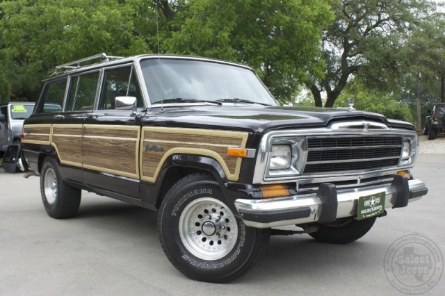 1988 Jeep Grand Wagoneer 4dr Wagon Inventory Select