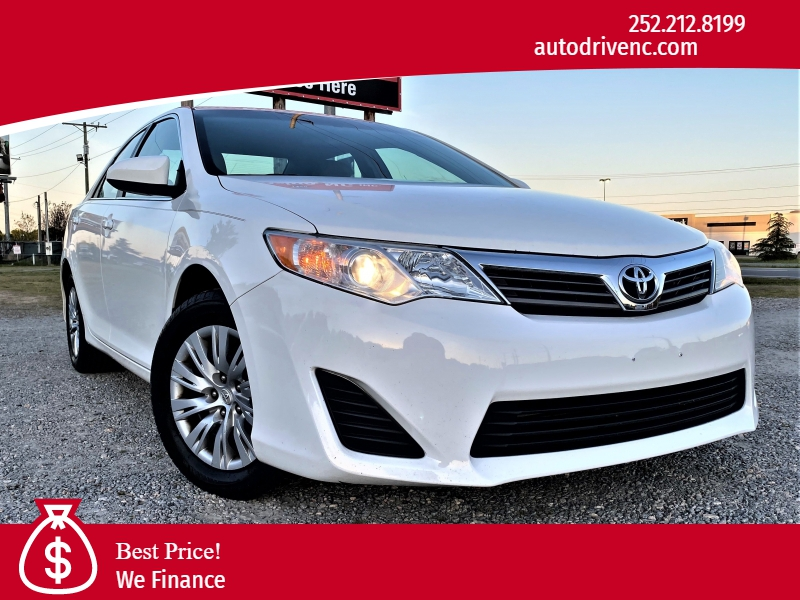 2014 toyota camry auto low miles cars - rocky mount, nc at geebo