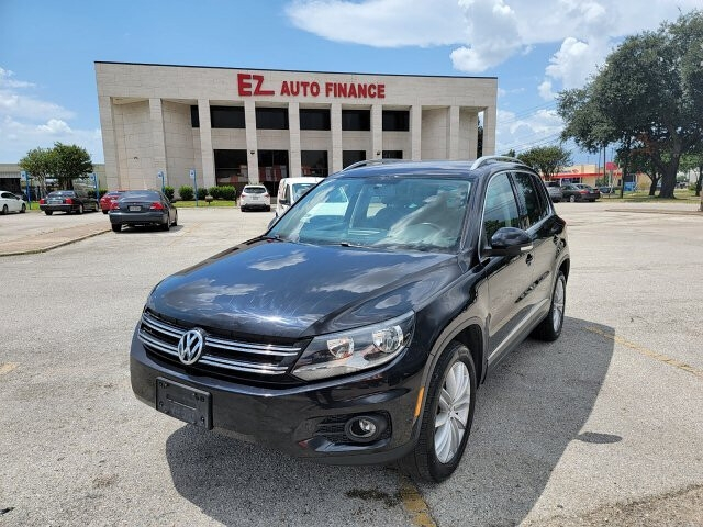2012 volkswagen tiguan s 6-speed automatic cars - houston, tx at geebo