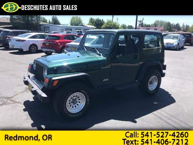 1999 jeep wrangler se cars - redmond, or at geebo