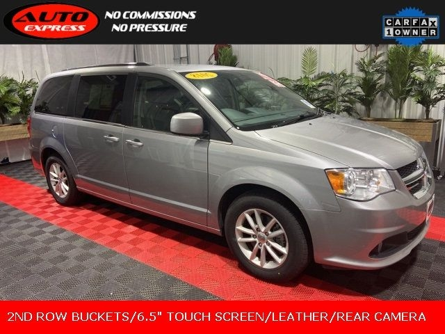 2018 dodge grand caravan sxt fwd 3rd row leather 17 alloys 6.5 touch screen cars - lafayette, in at geebo
