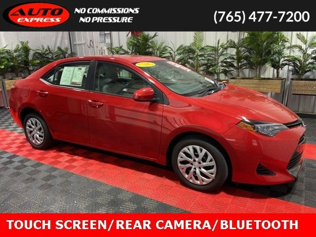 2017 toyota corolla le fwd touch screen rear camera bluetooth aux & usb inputs cars - lafayette, in at geebo