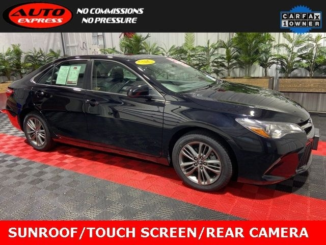 2017 toyota camry se fwd sunroof 17 alloys touch screen rear camera bluetooth cars - lafayette, in at geebo
