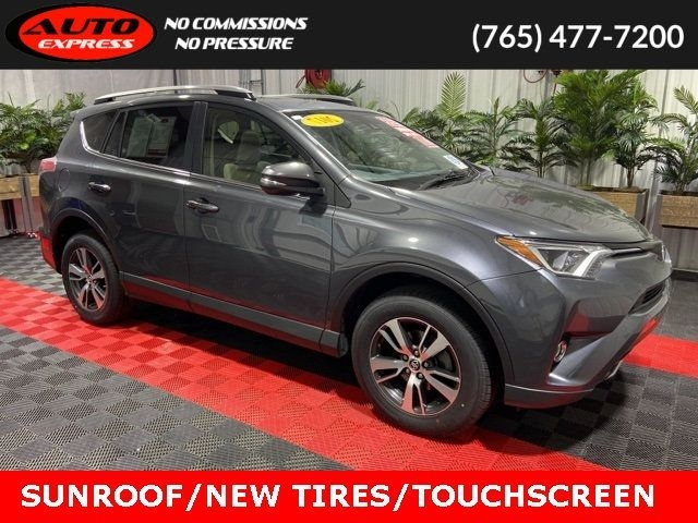 2017 toyota rav4 xle awd sunroof 17 alloys touch screen rear camera sat radio cars - lafayette, in at geebo