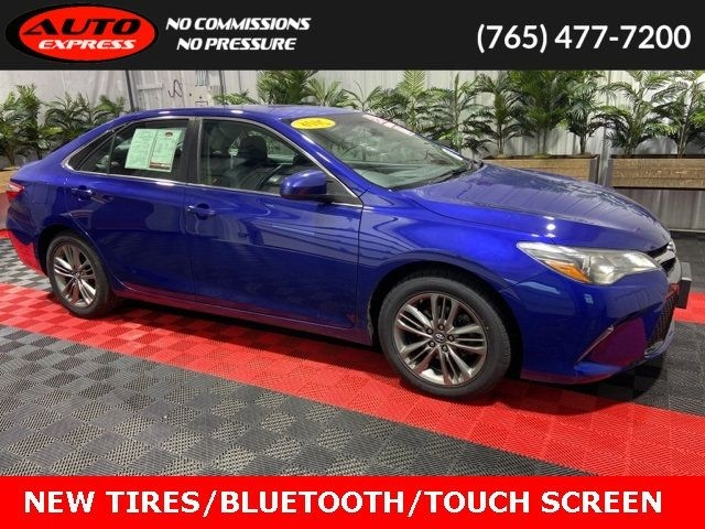 2016 toyota camry se sedan 17 premium alloys bluetooth 6.1 touch screen cd cars - lafayette, in at geebo