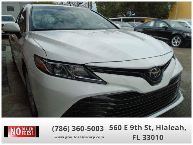 2018 toyota camry le sedan 4d 1000 down cars - hialeah, fl at geebo
