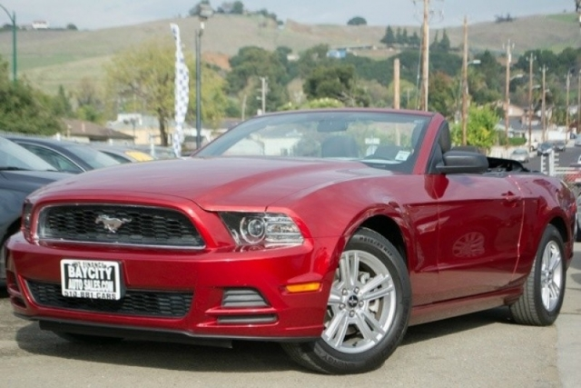 2014 ford mustang 2dr conv v6 inventory baycityauto auto dealership in hayward california. Black Bedroom Furniture Sets. Home Design Ideas