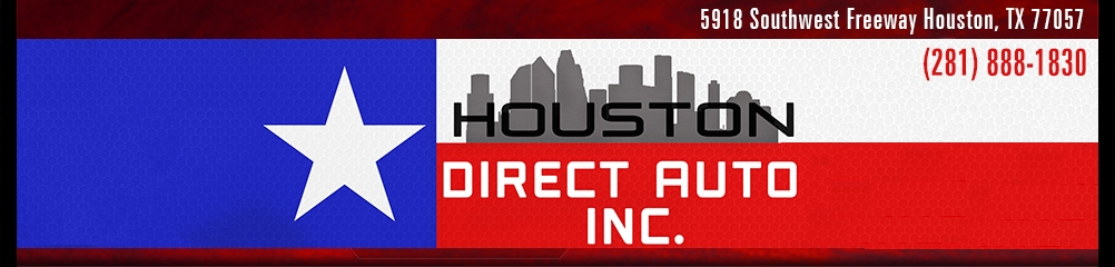 Houston Direct Auto, Inc.. (281) 888-1830