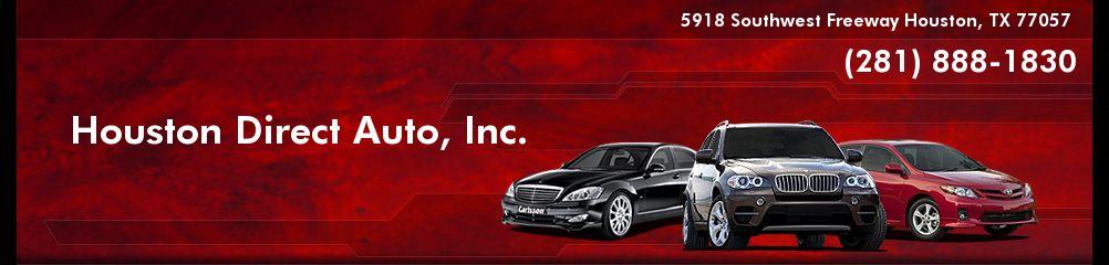 Houston Direct Auto, Inc.. (281) 888-1830