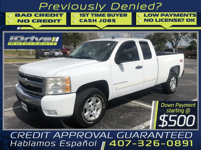 2008 chevrolet silverado 1500 extended cab work truck pickup 4d 5 3 4 ft cars - orlando, fl at geebo