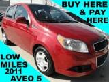 Chevrolet Aveo 5 LT DALLAS ARLINGTON TX, FORT WORTH IRVING 2011