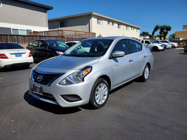 2018 nissan versa sv sedan 4d cars - castro valley, ca at geebo