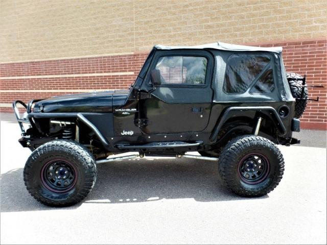 1997 jeep wrangler 2dr sport denver co. Black Bedroom Furniture Sets. Home Design Ideas