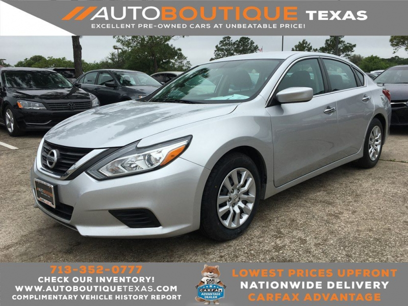 2016 nissan altima s 2.5 cars - houston, tx at geebo