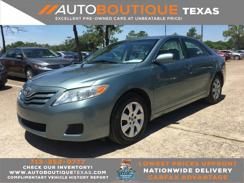 2010 toyota camry le le cars - houston, tx at geebo