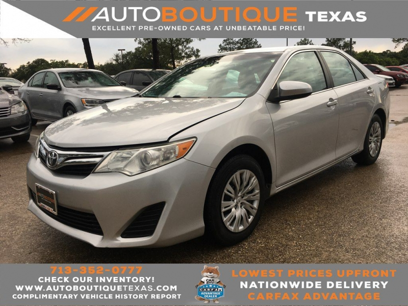 2013 toyota camry l cars - houston, tx at geebo