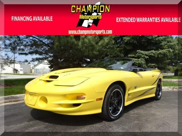 2002 Pontiac Firebird 2dr Conv Trans Am Champion Motorsports is pleased to offer this Newly Arrive