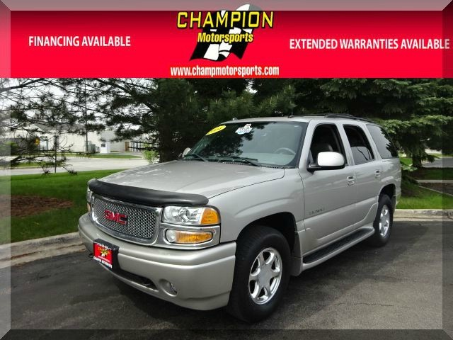 2004 GMC Yukon Denali 4dr AWD Take a Look At This 2004 Gmc Yukon DenaliThat Just Arrived A
