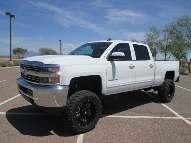 2015 chevrolet silverado 2500hd 4wd crew cab lt lifted diesel inventory canyon state auto. Black Bedroom Furniture Sets. Home Design Ideas