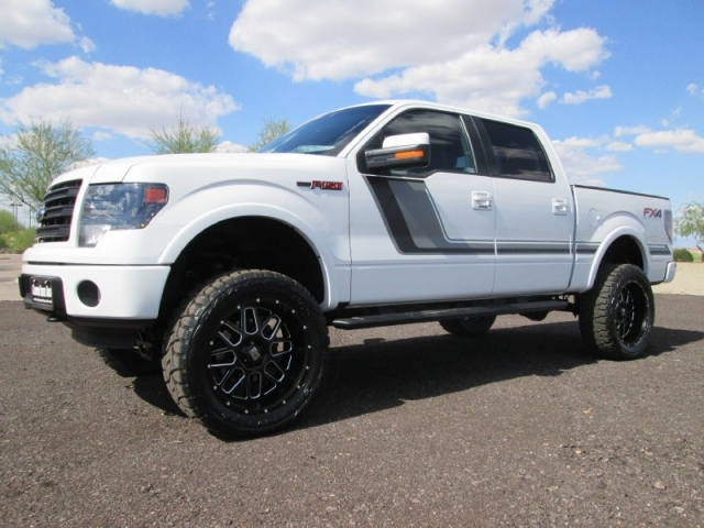 2014 ford f 150 4wd supercrew fx4 ecoboost lifted wheels tires inventory canyon state auto. Black Bedroom Furniture Sets. Home Design Ideas
