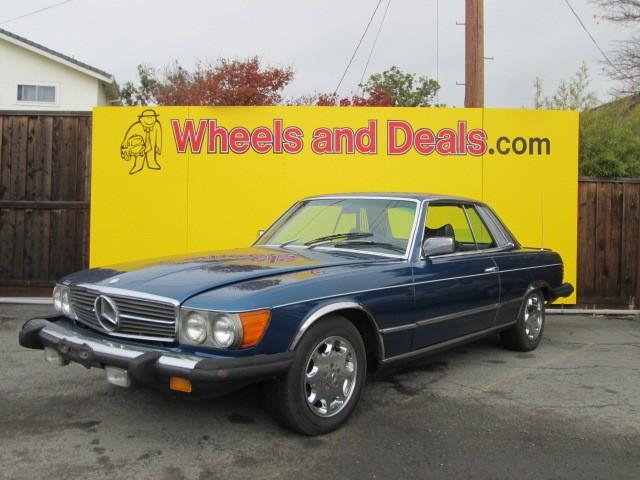 Mercedes-Benz 450SLC 1978