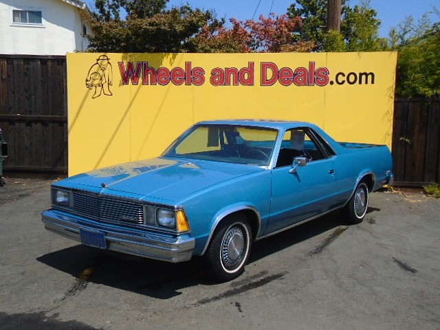 Chevrolet El Camino 1981