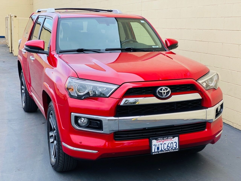 2016 toyota 4runner limited awd 4dr suv cars - rancho cordova, ca at geebo
