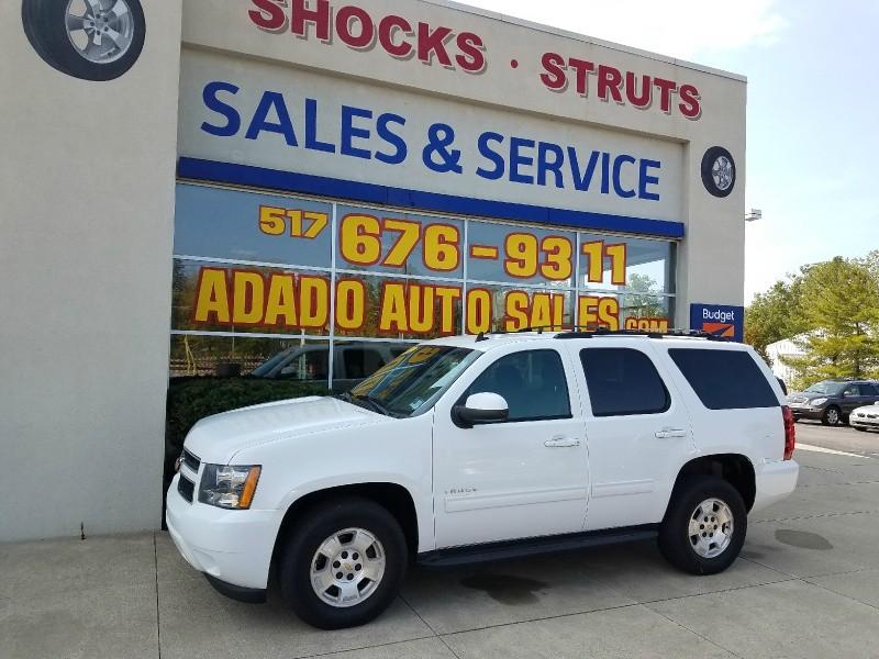 2012 Chevrolet Tahoe 4WD 4dr 1500 LS White Black 121810 miles Stock 64726 VIN 1GNSKAE07CR19