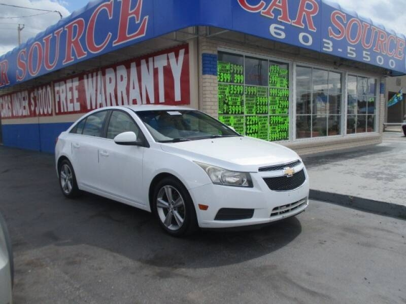 2012 chevrolet cruze lt 4dr sedan w 2lt cars - oklahoma city, ok at geebo