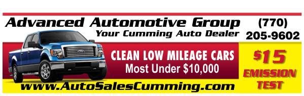 Advanced Automotive Group. (770) 205-9602