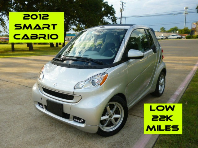 Smart fortwo passion Cabriolet 2012
