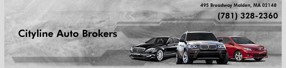 Cityline Auto Brokers. (781) 328-2360