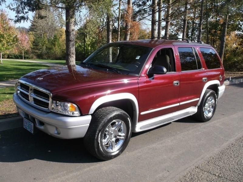 2002 dodge durango 4dr 4wd slt 3rd row red runs great volstice auto auto dealership in. Black Bedroom Furniture Sets. Home Design Ideas