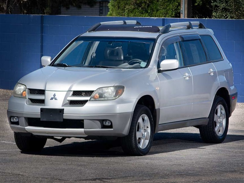2003 Mitsubishi Outlander 4dr AWD XLS This is a 2003 Mitsubishi Outlander AWD that is in beautifu