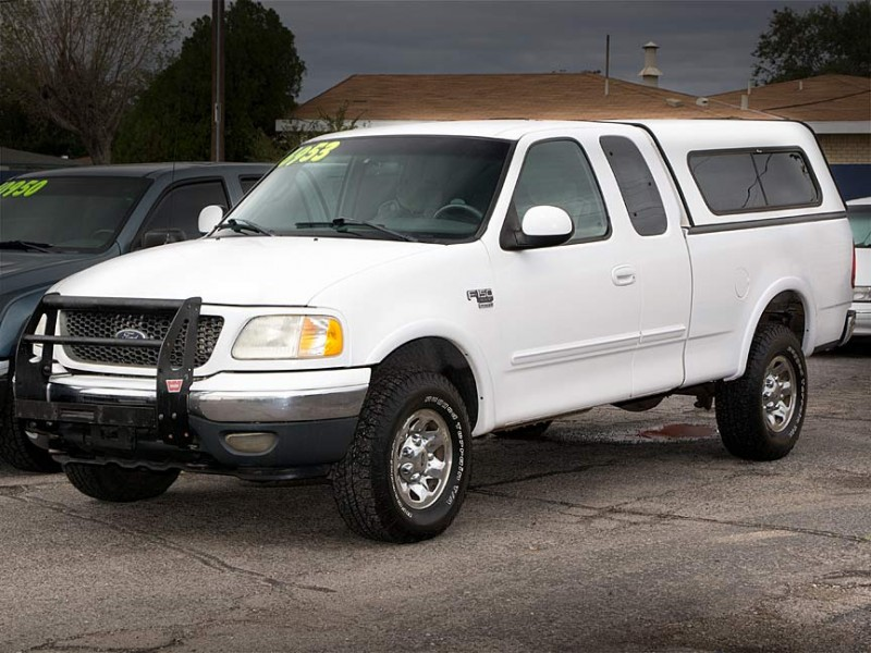 2001 Ford F-150 If you are looking for used truck in Albuquerque one that has low miles considering
