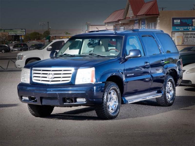 2006 Cadillac Escalade 4dr AWD Blue Beige 158566 miles Stock P2627 VIN 1GYEK63N46R106136