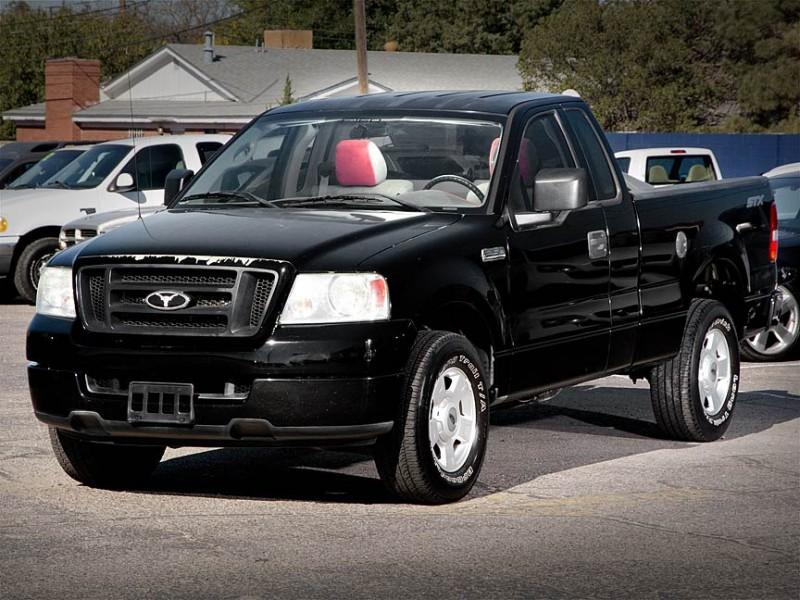 2004 Ford F-150 Black Gray 94333 miles Stock P2672 VIN 1FTRF12W94NA41409