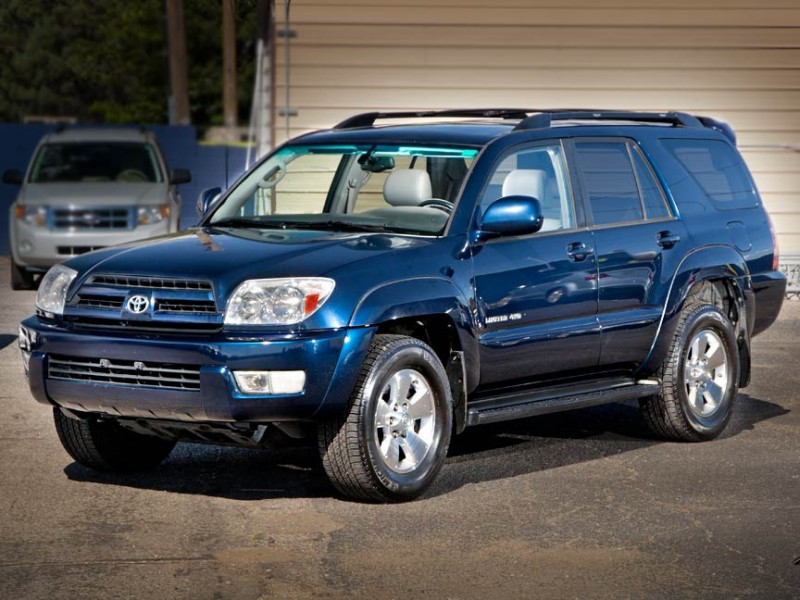 2005 Toyota 4Runner 4dr Limited V8 Auto 4WD Natl Blue Gray 210088 miles Stock P2610 VIN JT