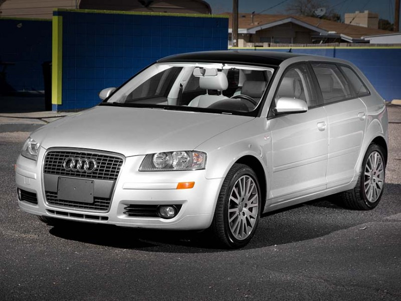 2008 Audi A3 4dr HB Man FrontTrak Ltd Avail Silver Gray 53294 miles Stock J2805 VIN WAUNF