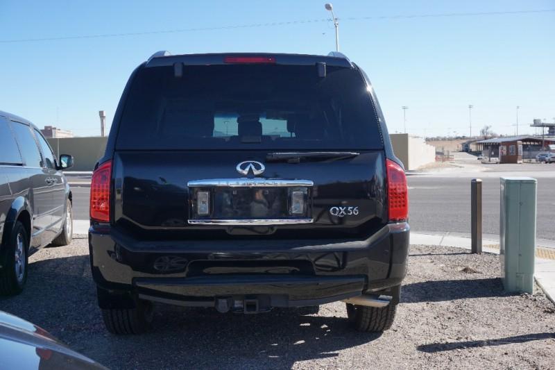 2008 Infiniti QX56 4WD 4dr Black 0 miles Stock J2835 VIN 5N3AA08C68N906395