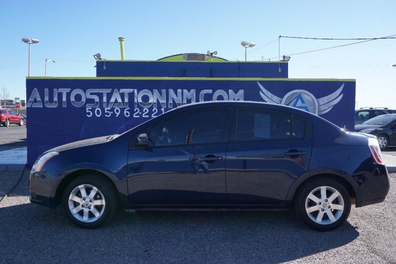 2008 Nissan Sentra 4dr Sdn I4 CVT 20 S Blue Beige 101340 miles Stock 641284 VIN 3N1AB61E38