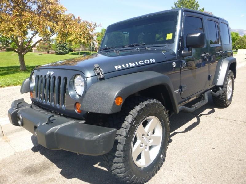 2008 Jeep WRANGLER UNLIMI RUBICON Blue 110183 miles Stock J2885 VIN 1J8GA69138L586027