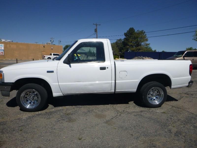 1994 MAZDA B2300 WHITE 102498 miles Stock N0009 VIN 4F4CR12A9RTM85434